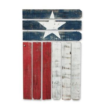 Reclaimed wood Texas Flag Wall Art