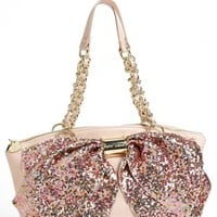 Betsey Johnson 'Bow-Nanza' Satchel | Nordstrom