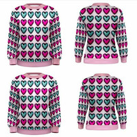 GEM HEART sweater
