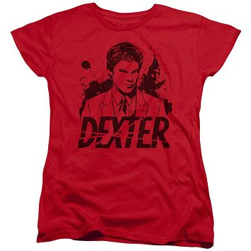 Dexter - Splatter Dex Short Sleeve Women's Tee