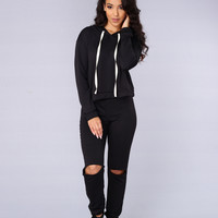 Tug of War Sweatshirt - Black