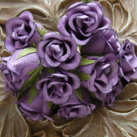 Prima Mulberry Paper Small Budding Roses by LayoutsFromTheHeart