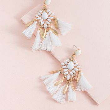 Taylor Tassel Drop Earrings