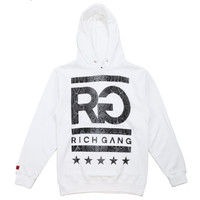 Tops - Sweatshirts - Hoodie - Rich Gang Snakeskin Hoodie - White - DTLR - Down Town Locker Room. Your Fashion, Your Lifestyle!