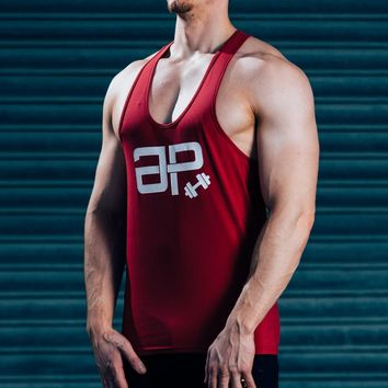 FormFit Vest - Red & White