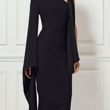 Look Book One Sleeve  Dress(Ready To Ship)