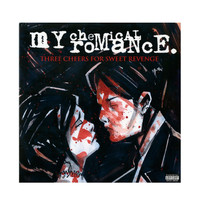 My Chemical Romance - Three Cheers For Sweet Revenge Vinyl LP Hot Topic Exclusive