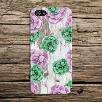 Spring Flowers x Faded White Wood Design Phone Case for iPhone 6 6 Plus iPhone 5 5s 5c 4 4s Samsung Galaxy s5 s4 & s3 and Note 5 4 3 2