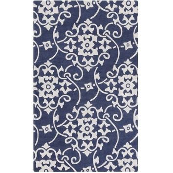 Savoy Navy Blue Rug