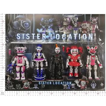 at  Toys Horror Game Funtime Freddy Ballora Circus Baby's Pizza World Figurine Action Figures