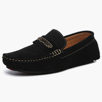 Suede Leather Soft sole Loafer Shoes