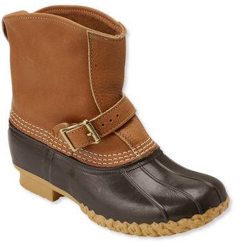 """Women's Tumbled-Leather L.L.Bean Boots, 7"""" Lounger"""
