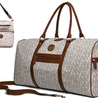 Stylish NX Duffle & Matching Messenger Bag