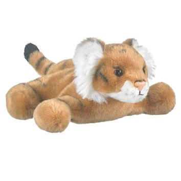 7 Inch Tiger Finger Puppets Stuffed Animals Conservation Collection