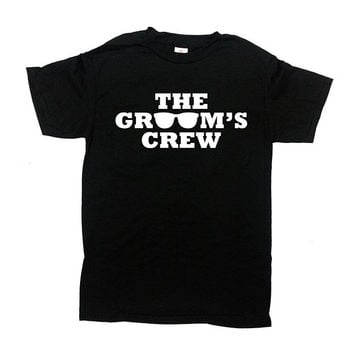 Bachelor Party Shirt Groomsmen Gift Ideas Groomsman Shirt Groomsmen T Shirt Wedding Party Gifts Grooms Men Grooms Crew Mens Tee - SA1130