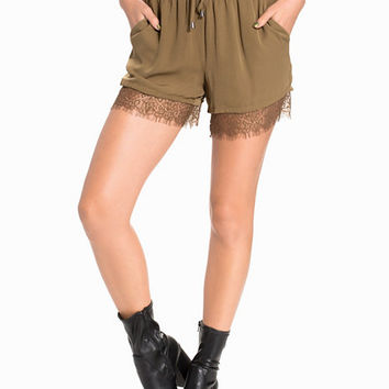 onlMIMINDA SOLID SHORTS WVN, Only