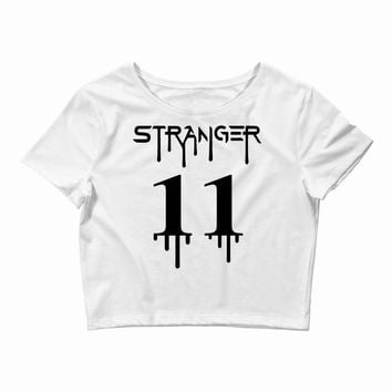Stranger Things Eleven Crop Top