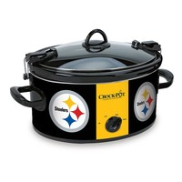 Crock-Pot Pittsburgh Steelers 6-qt. NFL Cook & Carry Slow Cooker