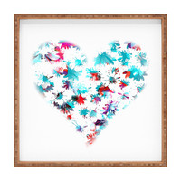Aimee St Hill Floral Heart Square Tray