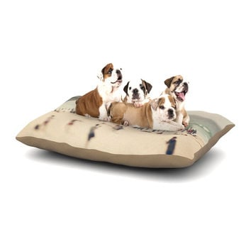 "Catherine McDonald ""Bondi Beach"" Coastal People Dog Bed"