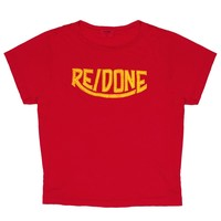 1970's Logo Graphic Tee - Red