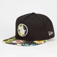 Volcom Future Athletics Sb Mens Snapback Hat Black Combo One Size For Men 26610414901
