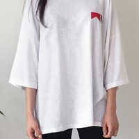 Red Vent Tee