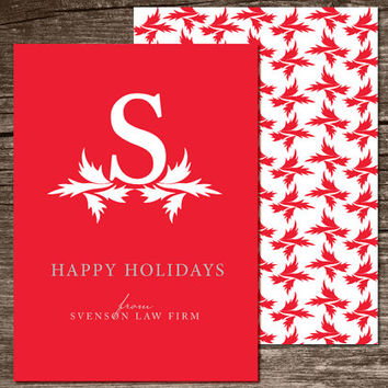 Holiday Card - Printable & Personalized