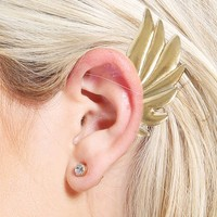 Angel Wing Earcuff | MakeMeChic.com