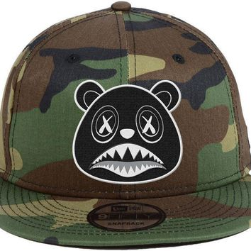 Oreo Baws - New Era 9Fifty Army Camo Snapback Hat