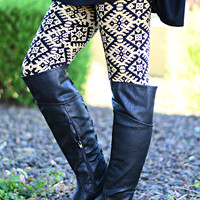 GOLD CANYON LEGGINGS - ONE