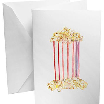 Popcorn Gift Box Set of 12 Note Cards