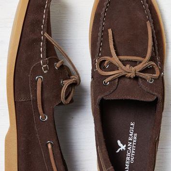 AEO Men's Suede Boat Shoe