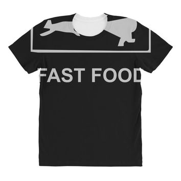 fast food funny All Over Women's T-shirt