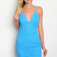 S9-14-1-D22608 TURQUOISE LACE DRESS 2-2-2
