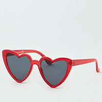 Red Heart Sunglasses, Red