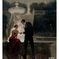 Twilight Romance Giclee Print by Brent Lynch at Art.com