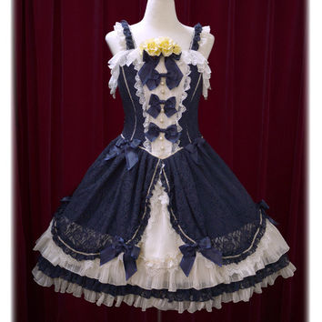 La belle rose de Paris ジャンパースカート/La belle rose de Paris jumper skirt | BABY,THE STARS SHINE BRIGHT