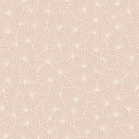 "Wonderland Blomma Geometric 33' x 21"" Wallpaper Roll"