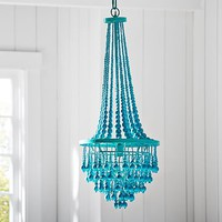 Junk Gypsy Beaded Chandelier