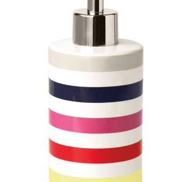 kate spade new york candy stripe lotion dispenser | Nordstrom