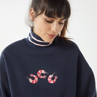 Lazy Oaf Prawn Turtleneck Sweater | Urban Outfitters
