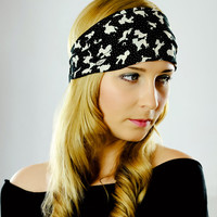 Headwrap Headscarf Head Band Hair Accessory Free People Hairband Wide Headband Headband Woman Hippie Headband Dog