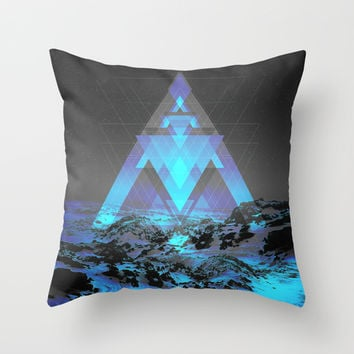 Neither Real Nor Imaginary Throw Pillow by Soaring Anchor Designs