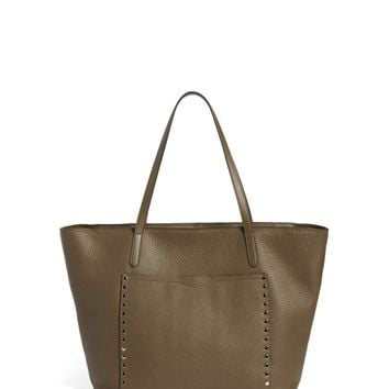 Rebecca Minkoff Unlined Front Pocket Leather Tote | Nordstrom