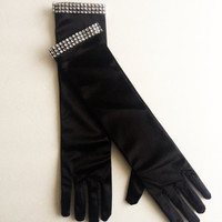 Adult Elbow Length Breakfast At Tiffany's Gloves