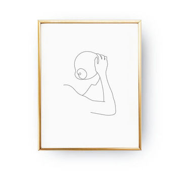Dreamy Woman Backside, Fine Line, Minimal Illustration, Woman Art, Black And White, Minimal Art, Simple Fashion, Woman Body, Sketch Art