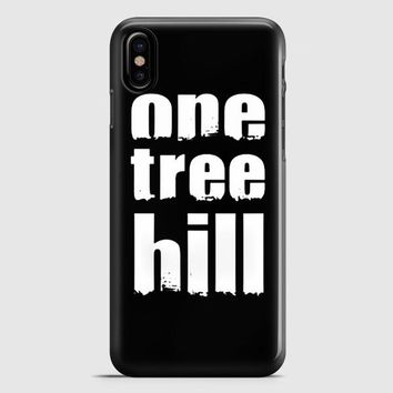 One Tree Hill iPhone X Case   casescraft