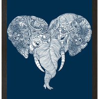 Punch Trunk Love Elephant Poster