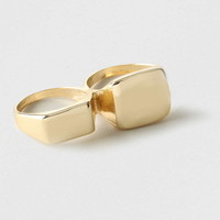 Asymetric Two Finger Ring* - Men's Jewelry - Shoes and Accessories